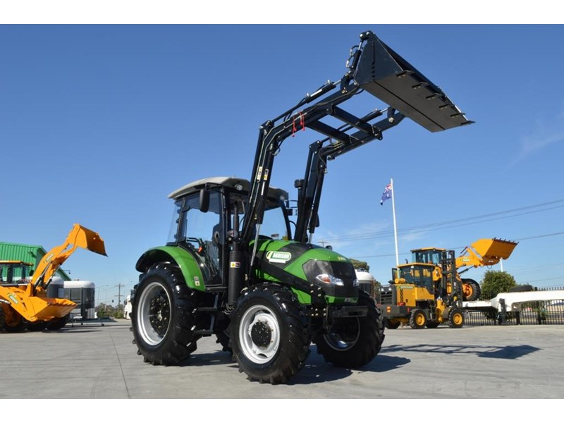 agrison 80hp cdf cabin - 4in1 bucket - 5 year warranty - free 6ft slasher! 455378 002