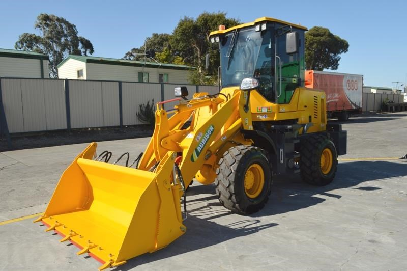 agrison wheel loader tx920l 75hp free 4-in-1 gp forks quick hitch 465353 018
