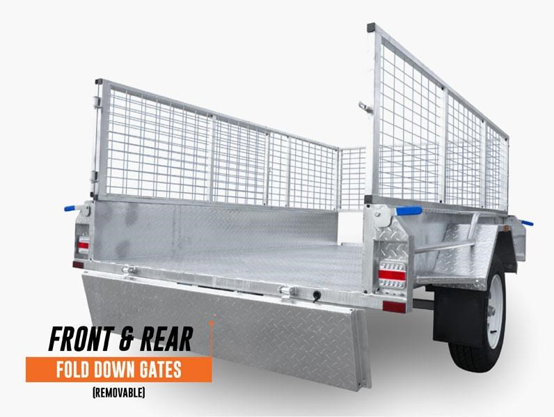 stonegate 7x5 high sides trailer 534502 004