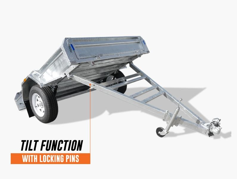 stonegate 7x5 high sides trailer 534502 007