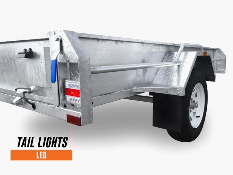 stonegate 7x5 high sides trailer 534502 010