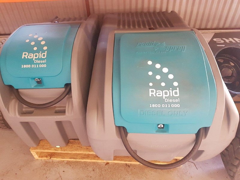 rapid spray 200l genius diesel unit 535381 005