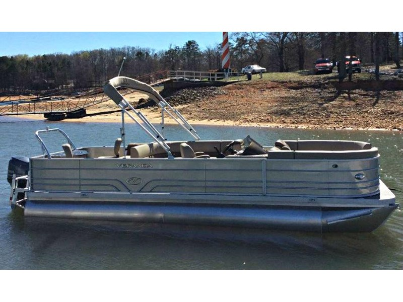 veranda vf22f2 fish / cruise pontoon 536612 005