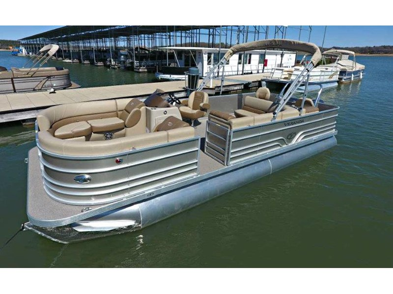 veranda vf22f2 fish / cruise pontoon 536612 008