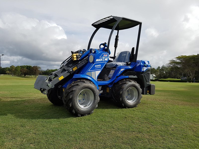 2019 Multione 53 Mini Loader With Yanmar Engine For Sale