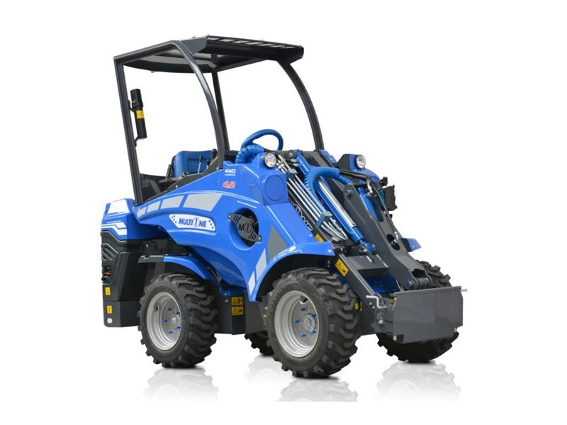 2019 Multione 42 Mini Loader With 20hp Kubota Diesel Engine For Sale