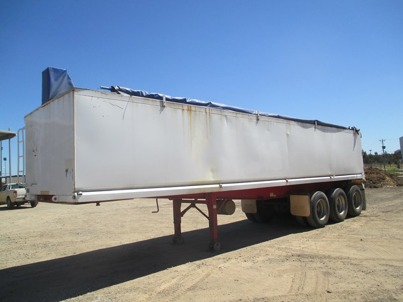 parsons steel grain chassis semi tipper 541759 002