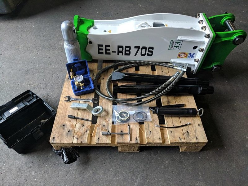 EVERYTHING EARTHMOVING EE-RB70S HYDRAULIC ROCK BREAKER for sale