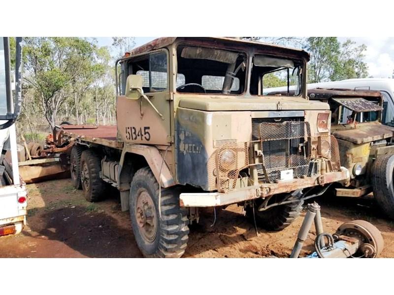 ARMY ACCO 6X6 dismantling