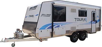 millard toura family caravan 1960 - 20ft2in 545632 001