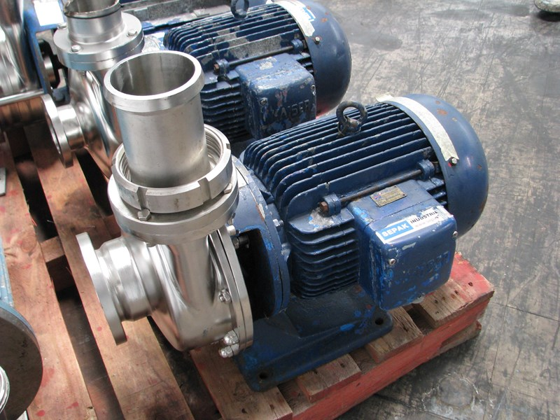 HOLSTEIN & KAPPERT STAINLESS CENTRIFUGAL PUMP - 7 5KW for sale