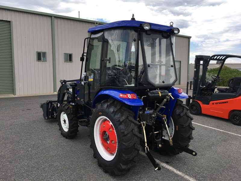 trident brand new 40hp tractor 4wd+fel+slasher shuttle shift 512366 071