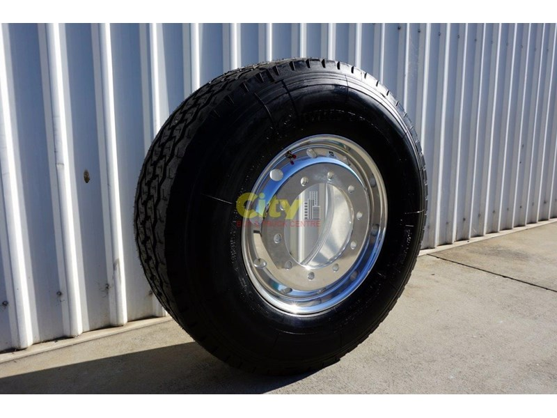 windpower 385/65r22.5 (wgc28) on alcoa 11.75x22.5 durabright - suit scania 551525 002