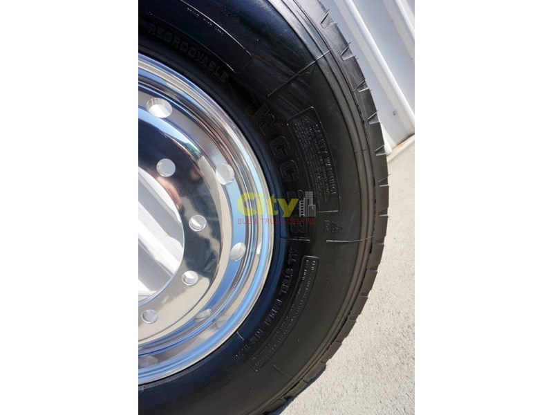windpower 385/65r22.5 (wgc28) on alcoa 11.75x22.5 durabright - suit scania 551525 005
