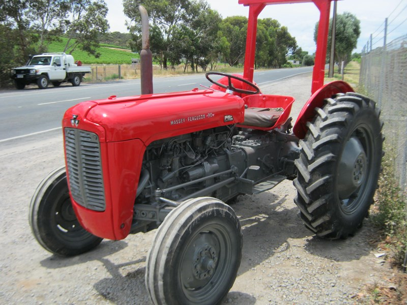 massey ferguson 35 deluxe tractor wrights tractors phone 08 8323 8795 for sale. Black Bedroom Furniture Sets. Home Design Ideas