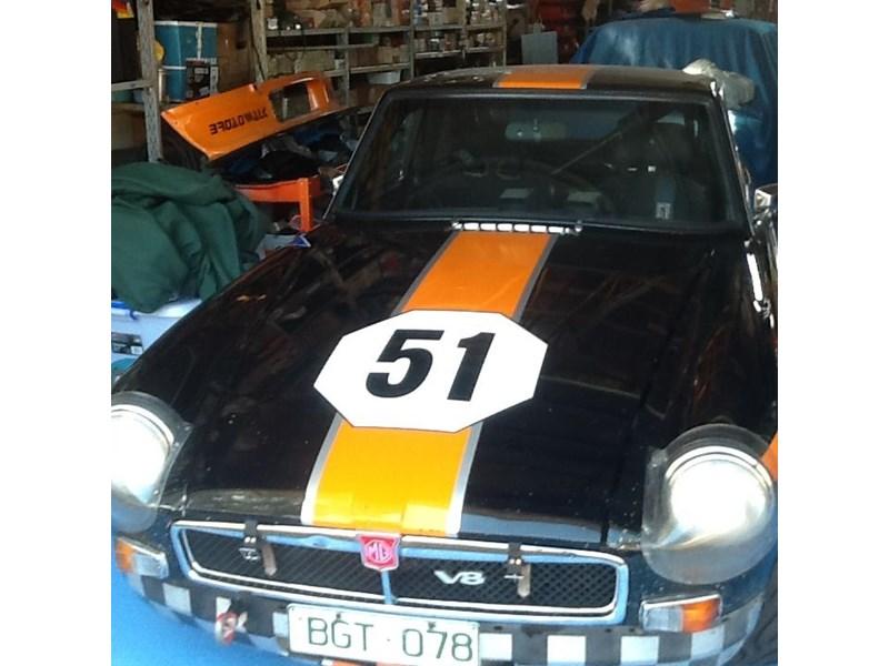 1975 MG BGT V8 Hstoric SC race car for sale