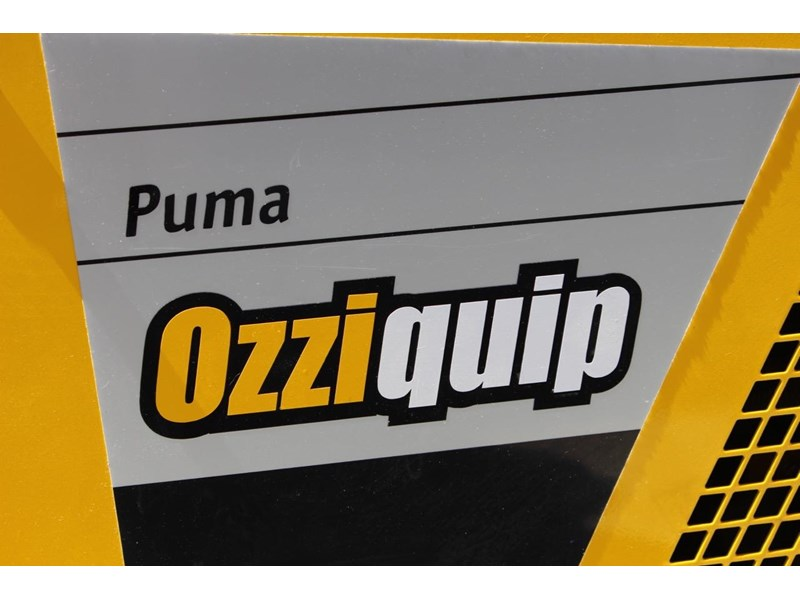 ozziquip puma 21hp diesel 7 piece package deal with trailer 563914 006