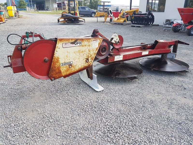 ufo 2400 hl twin drum mower 566630 003