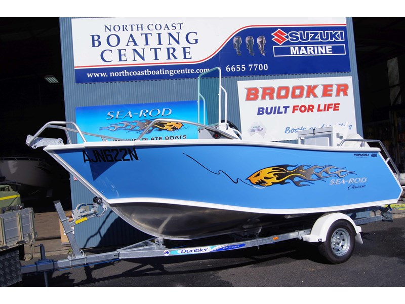 sea-rod 480 deluxe centre console 428811 001