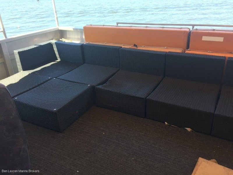custom aluminium party boat 501503 006