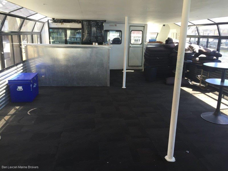 custom aluminium party boat 501503 009