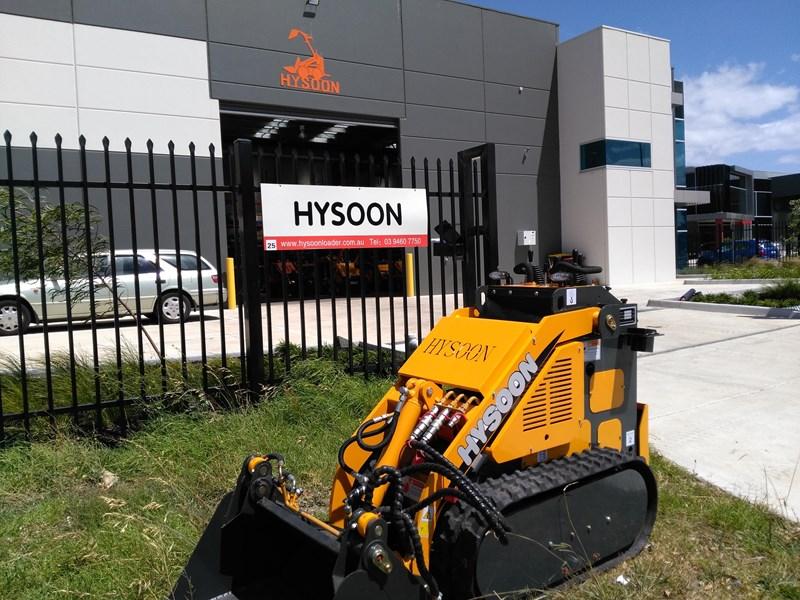 Hysoon 2 Series 880mm Narrow Tracked Mini Digger Like