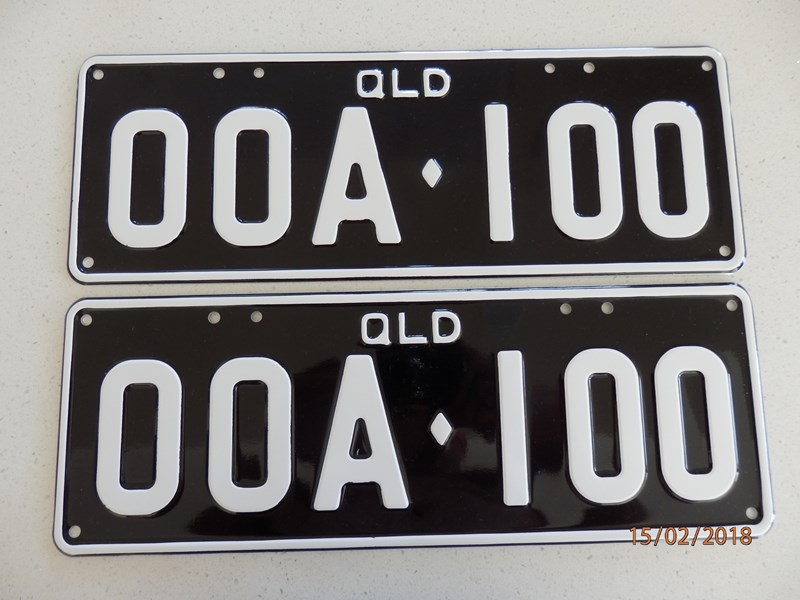 NUMBER PLATES PERSONALISED for sale