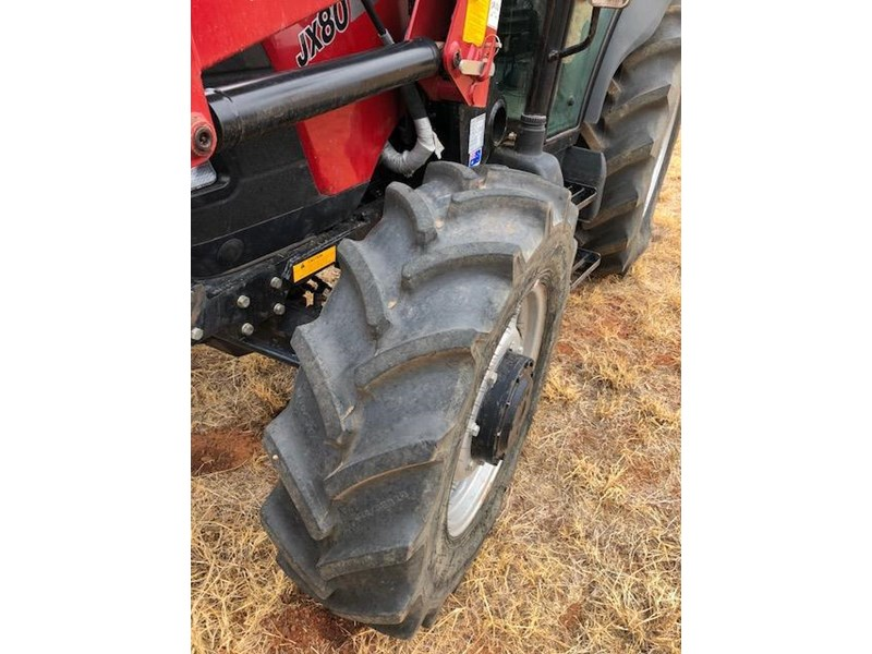 case ih jx80 with challenge loader 577709 004