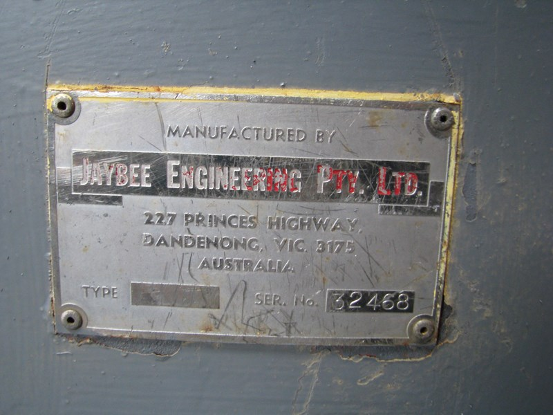 jaybee engineering rotary valve feeder blower 582006 005