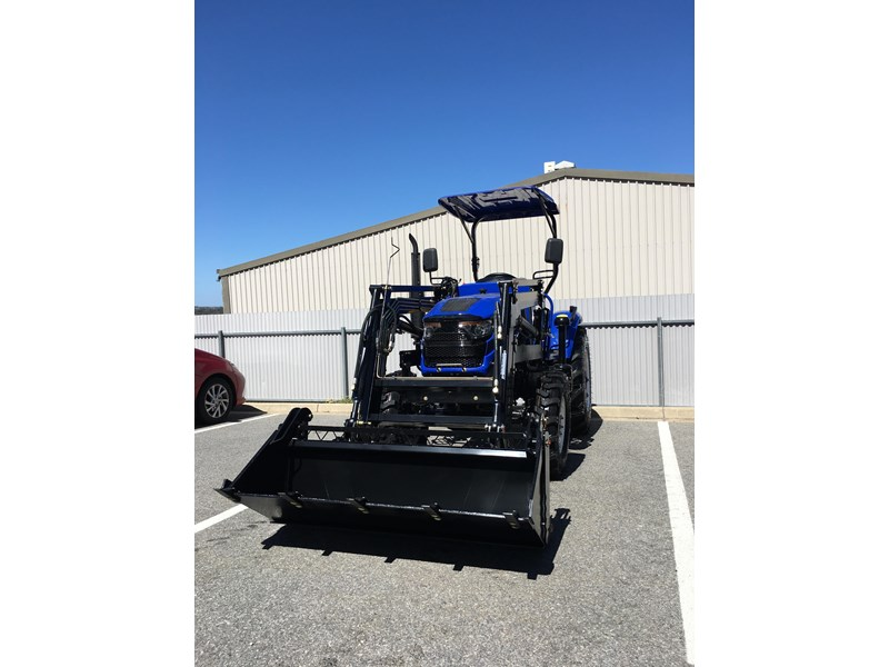 trident brand new 40hp tractor 4wd+fel+slasher shuttle shift 512366 064