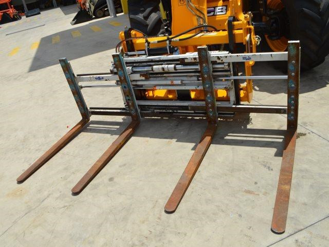unknown cascade double pallet hydraulic forks to suit jcb telehandler 585431 006