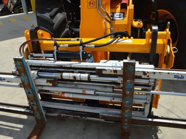 unknown cascade double pallet hydraulic forks to suit jcb telehandler 585431 005