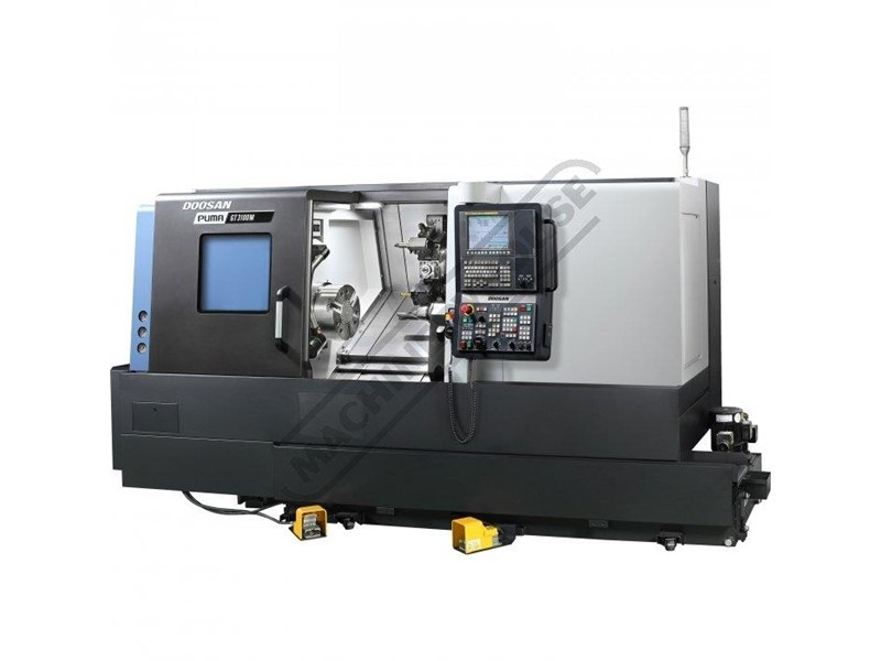 doosan machine tools puma gt2100m c axis 445739 003