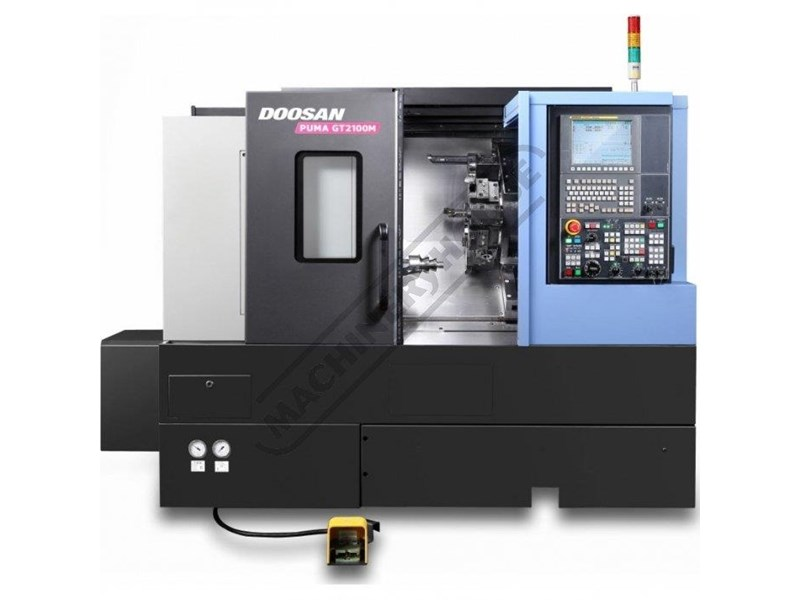 doosan machine tools puma gt2600m c axis 445740 002