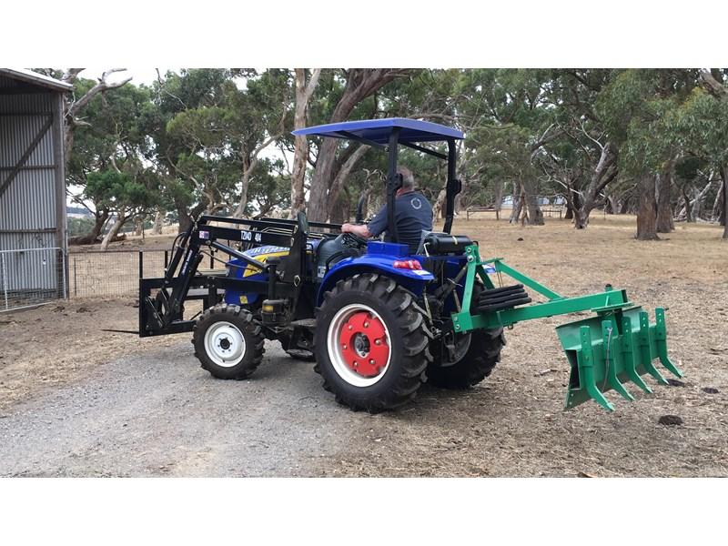 trident brand new 40hp tractor 4wd+fel+slasher shuttle shift 512366 025
