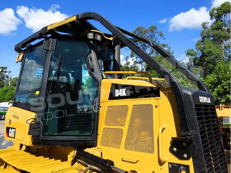 2019 Caterpillar D4k D4k2 Dozers Screens Sweeps Cat D4 Forestry