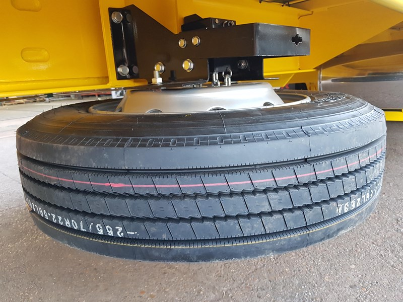 fwr elite tri axle tag trailer - ebs 594629 008