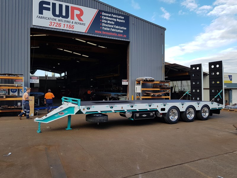 fwr elite tri axle tag trailer - ebs 594629 010