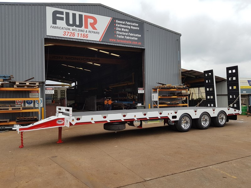 fwr elite tri axle tag trailer - ebs 594629 003