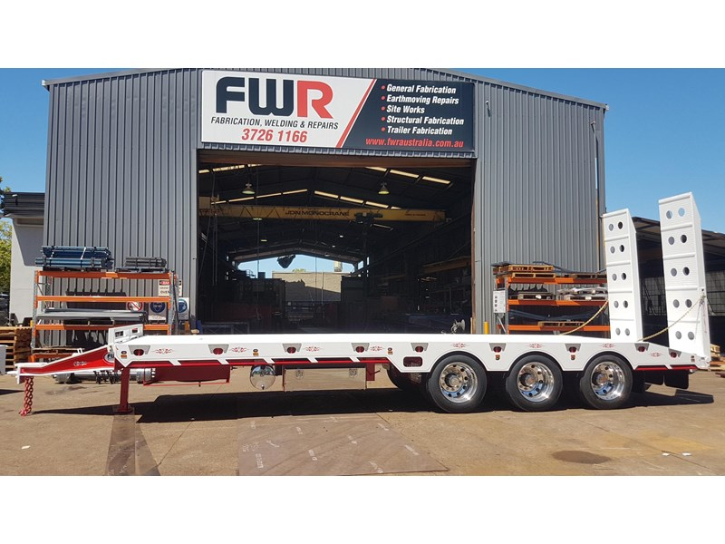 fwr elite tri axle tag trailer - ebs 594629 014