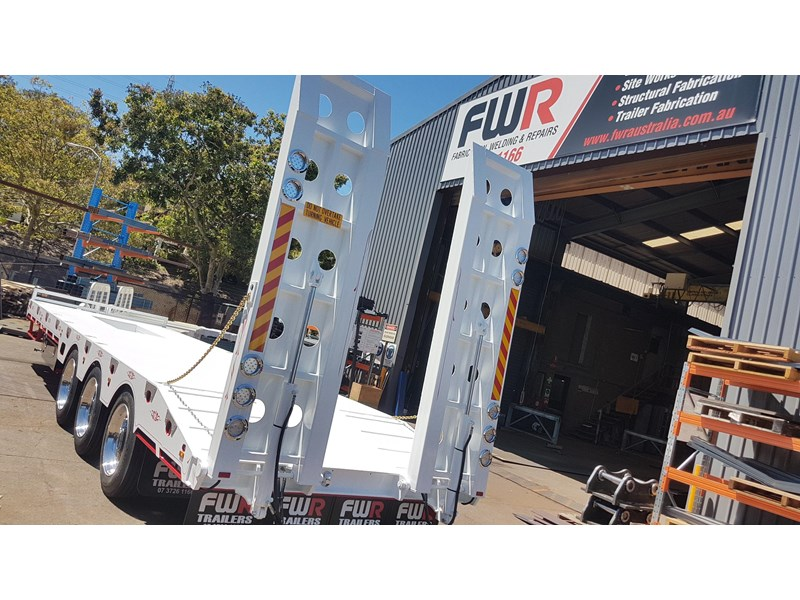 fwr elite tri axle tag trailer - ebs 594629 016