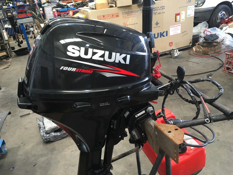 suzuki 15 hp 4 stroke electric start 596555 001