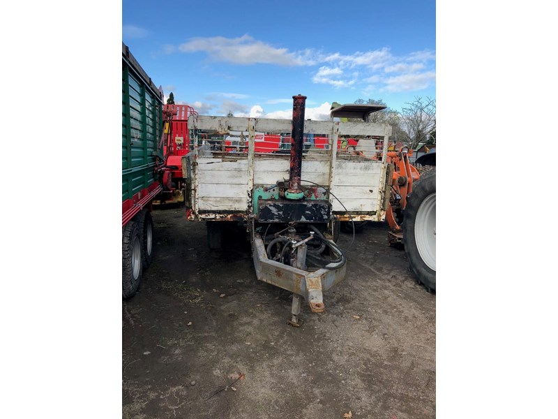 home made tipping trailer 8 ton 598060 001