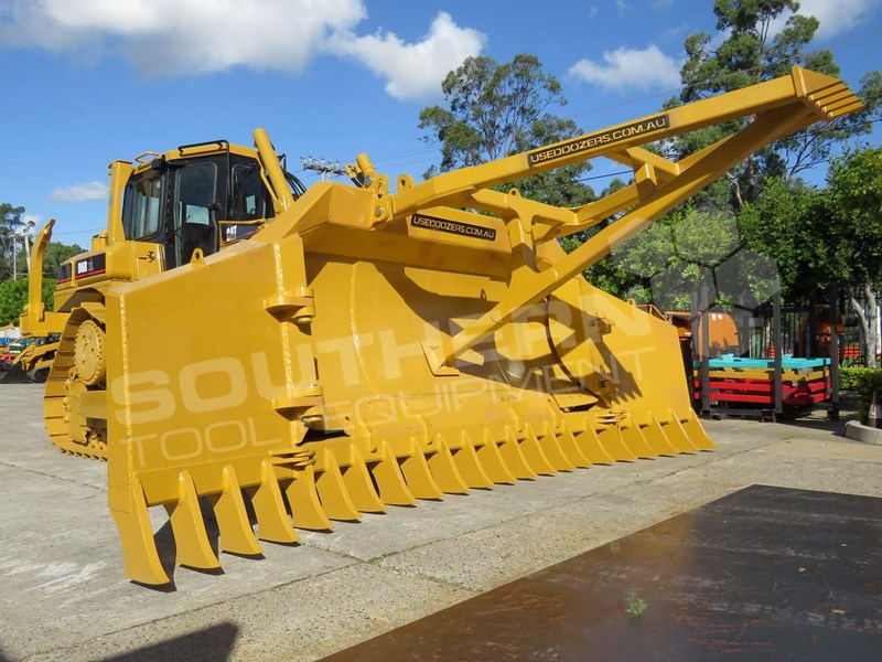 CATERPILLAR D6R XL Bulldozer with Stick Rake & Tree Spear for sale