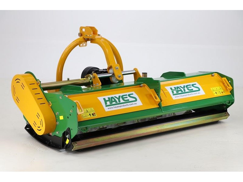 hayes flail mower premium 1800 cut with hydraulic sideshift (mulcher slasher) 545061 002