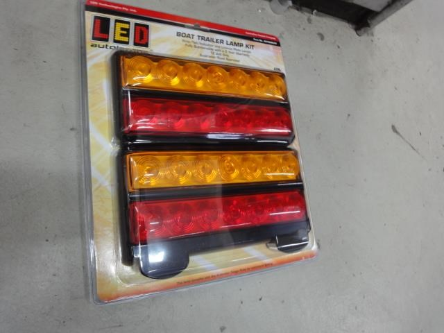 led autolamps boat trailer light kit 602225 002