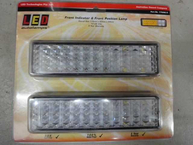 led autolamp front indicator/park light 602268 001