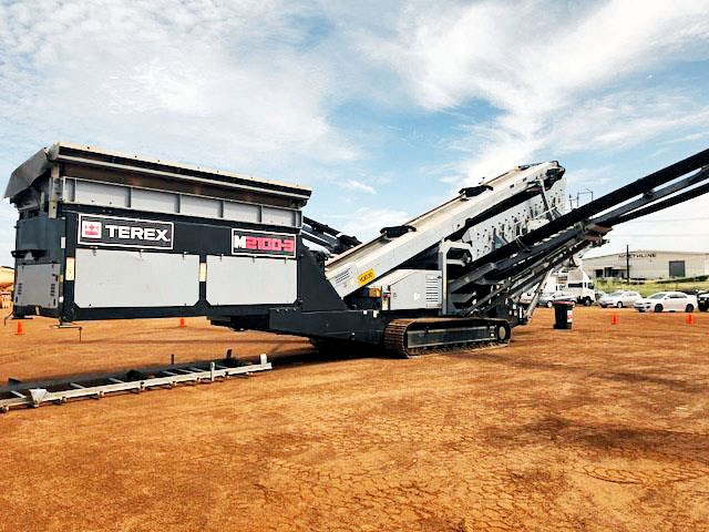 terex finlay m2100-3 screening plant 602323 001