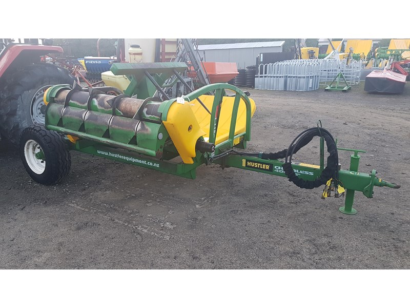 hustler chainless 4000 bale feeder 603399 001