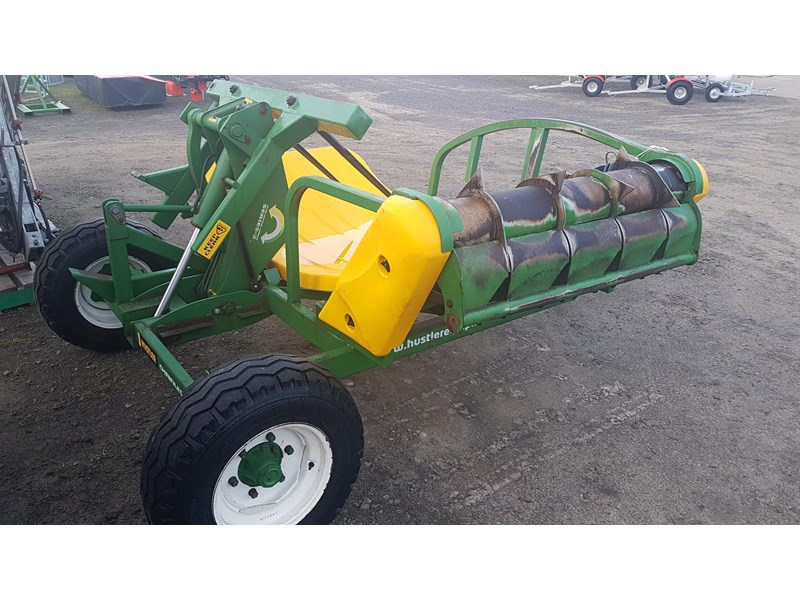 hustler chainless 4000 bale feeder 603399 002